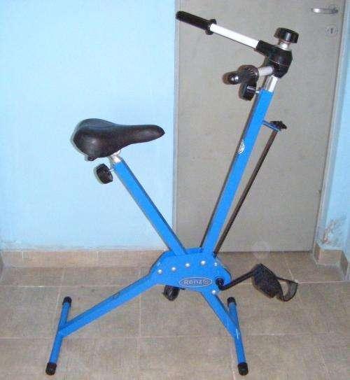 bicicleta sin uso para gimnasia con remo fija