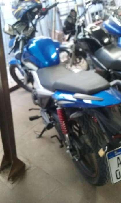 Moto marca Guerrero modelo GR1 150cc como nueva todos los papeles