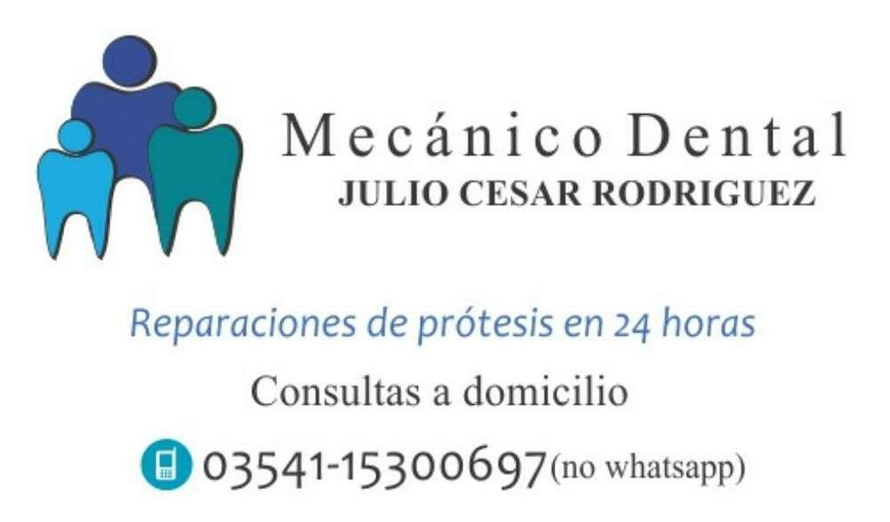 Mecanico Dental a Domicilio