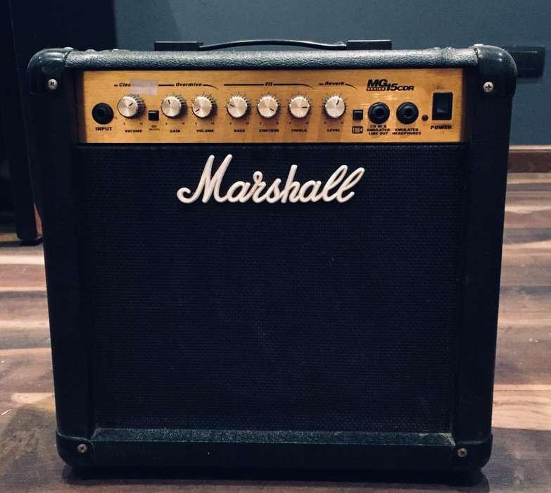 Amplificador Marshall Mg15cdr 15 Wats