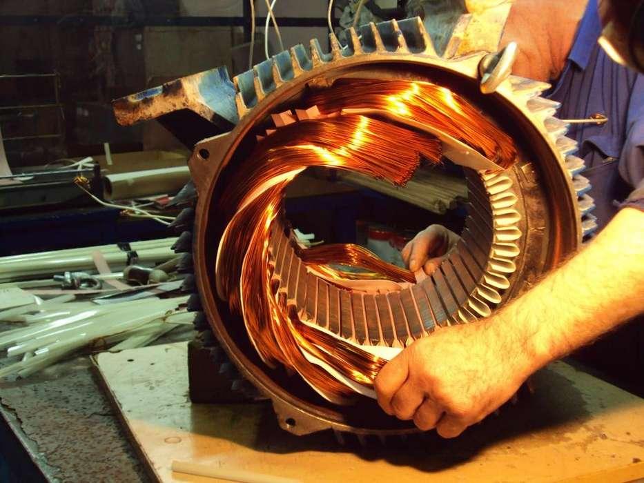 motores electricos e industriales bobinado control e hidroneumatico