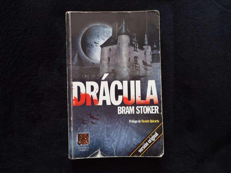Libro Drácula Autor Bram Stoker Libro Original Editorial Porrúa
