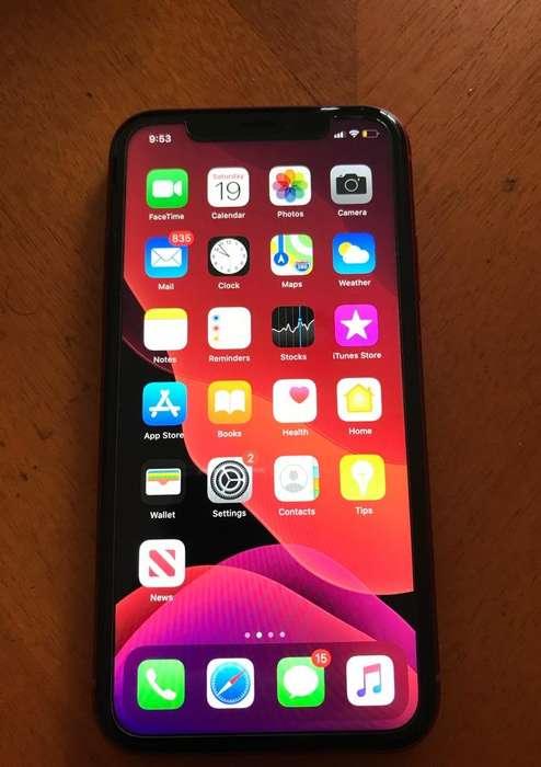 iPhone Xr Red con 64Gb Como Nuevo