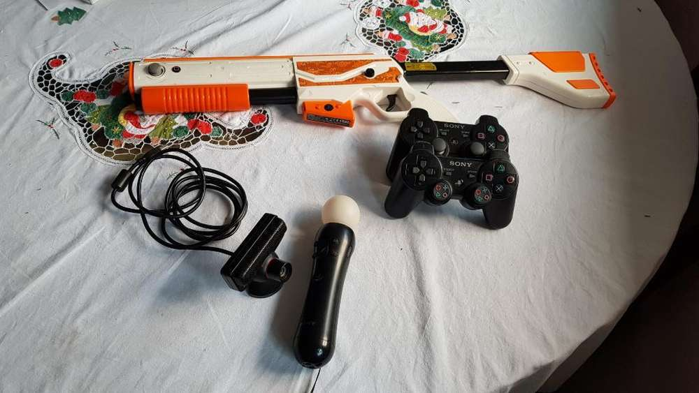Controles Ps3 Camara , Bundle, Pistola