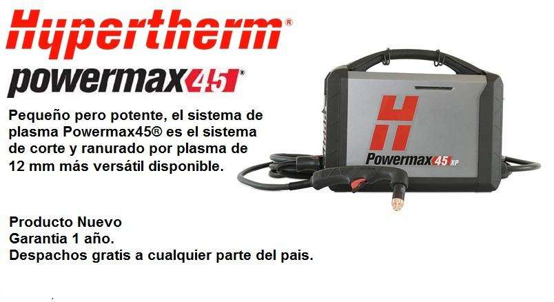 Fuente de Corte por Plasma Hypertherm Powermax 45