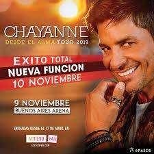 Traslado La Plata - Recital de Chayanne 10 de Noviembre