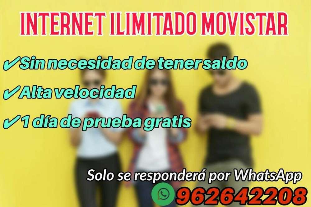 Internet Movistar sin Limite