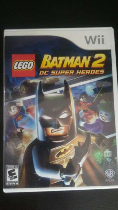 Lego Batman 2 Dc Wii Perfecto Estado