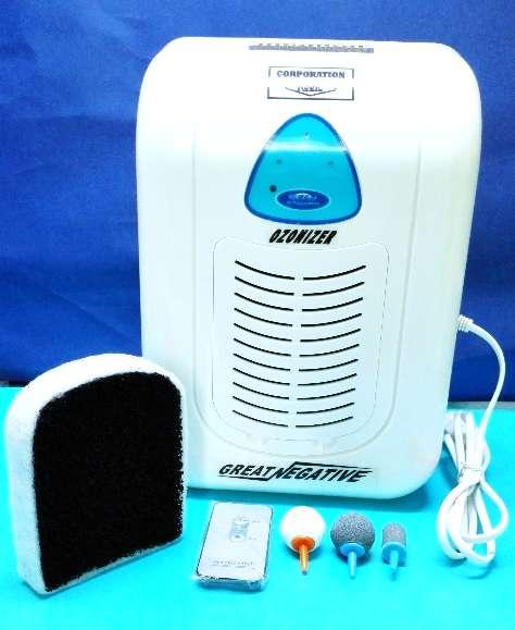 Ozonizador Ind. 2 en 1con Ion Gran Neg. C/Control Remoto precio IGV