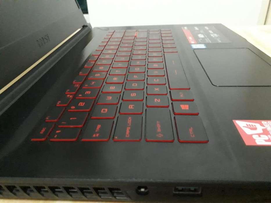 Notebook MSI I7-8750H