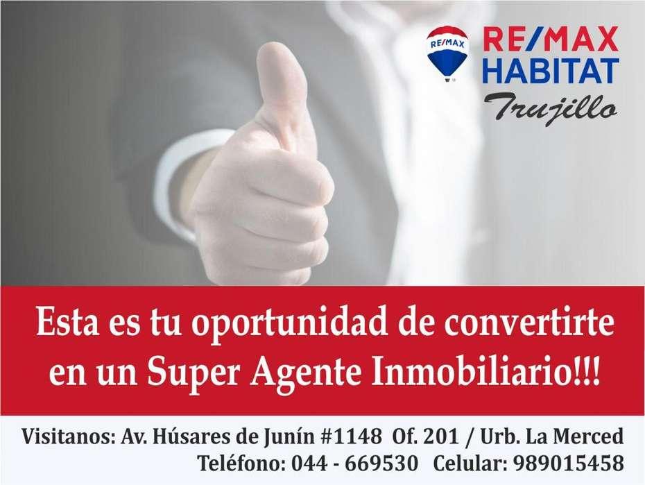 Oportunidad de desarrollarte como Super Agente Inmobiliario
