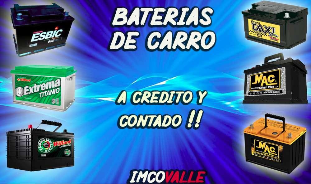 BATERIAS PARA CARRO A CREDITO O CONTADO !!