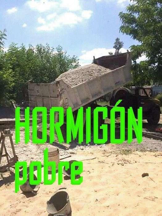 Hormigon Pobre Elaborado!!! Especial bloques de cemento y contrapisos. 800