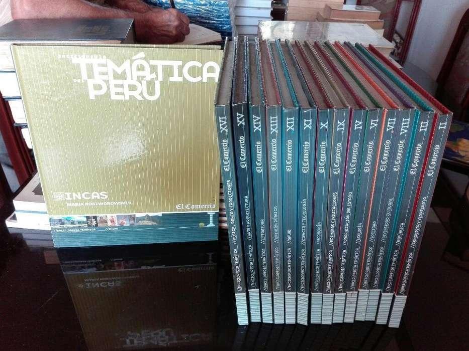 Enciclopedia Tematica Del Peru