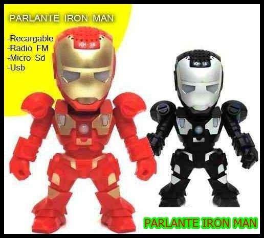 Parlante Iron Man