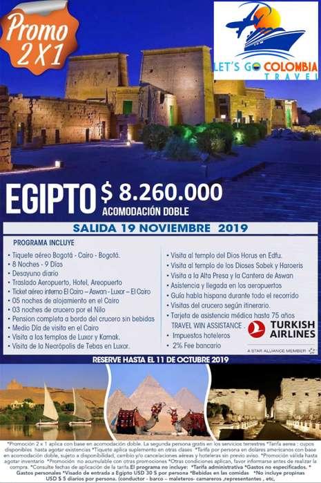 Egipto 2x1
