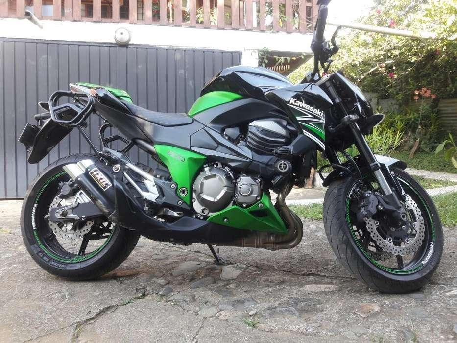 Hermosa <strong>kawasaki</strong> Z 800 , Papeles Al Dia