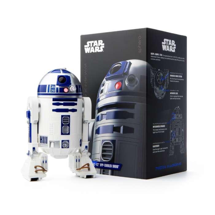 Droide R2D2 de la saga de Star Wars controlable vía App.