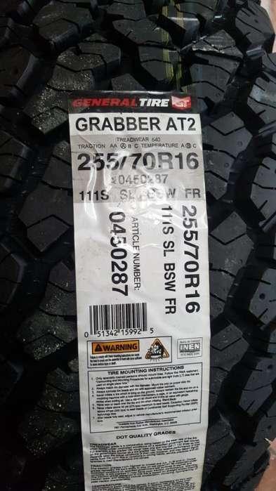 Vendo Llanta General Grabber T2 Nueva