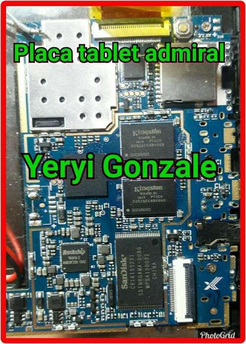 Placa para Tablet Admiral
