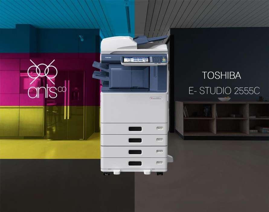Toshiba 2555C - Multifuncional Laser a Color - Impresión, Escáner, Copiado - Usada - Ants Co