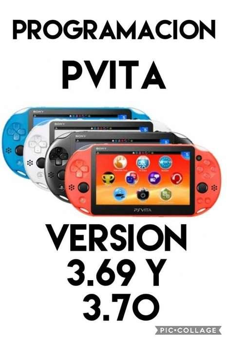 programacion de psvita 3.69 y 3.70 con fifa 19 y tienda de descarga