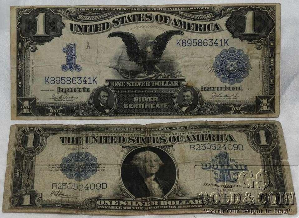 venta....2..hermosos..billetes..antiguos