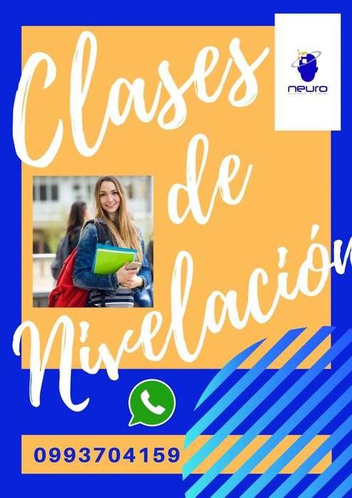 Tareas Dirigidas/nivelaciones Académicas