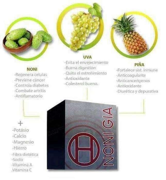Noni Gia: Es Un Potente Antioxidante