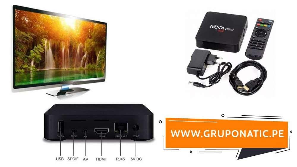 Convertidor Smart Tv 4k Amlogic Tv Box Gruponatic San Miguel Surquillo Independencia La Molina Whatsapp 941439370
