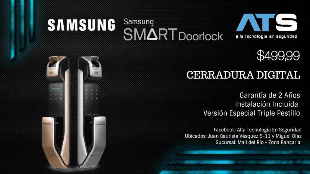CERRADURA DIGITAL SAMSUNG SHS - P718