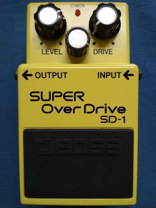 Super Overdrive Sd-1 Boss Pedal Distorsión Guitarra
