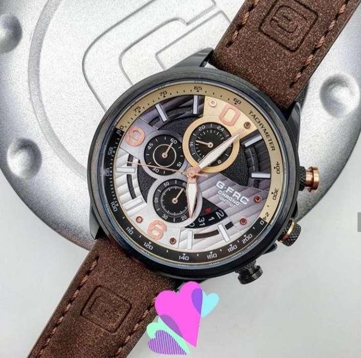 Reloj G-force Cuero