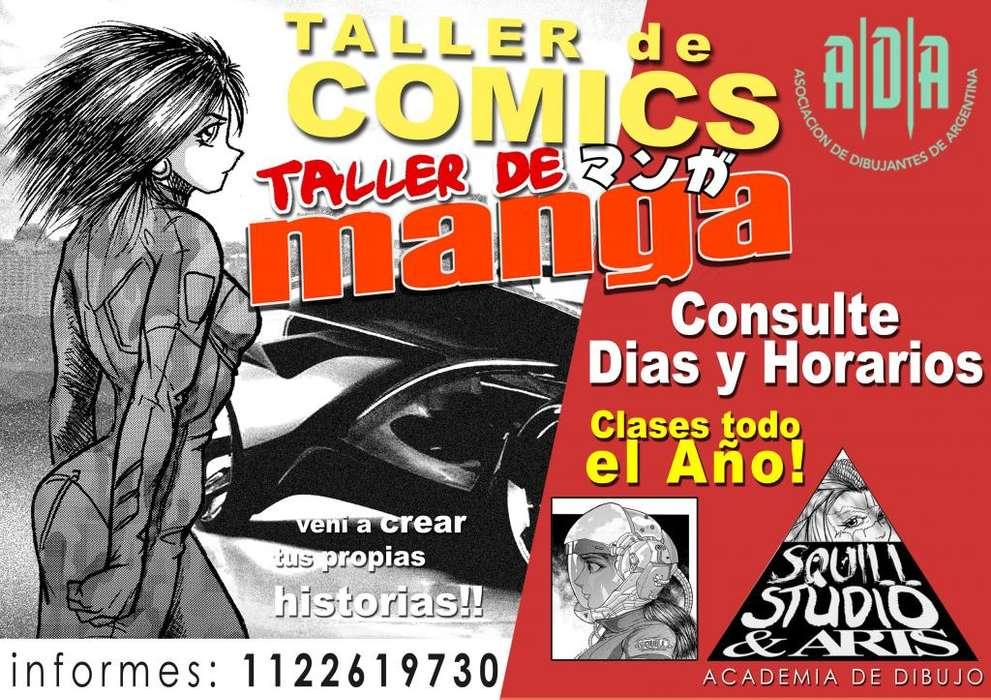 Curso de Manga y Comics 2019