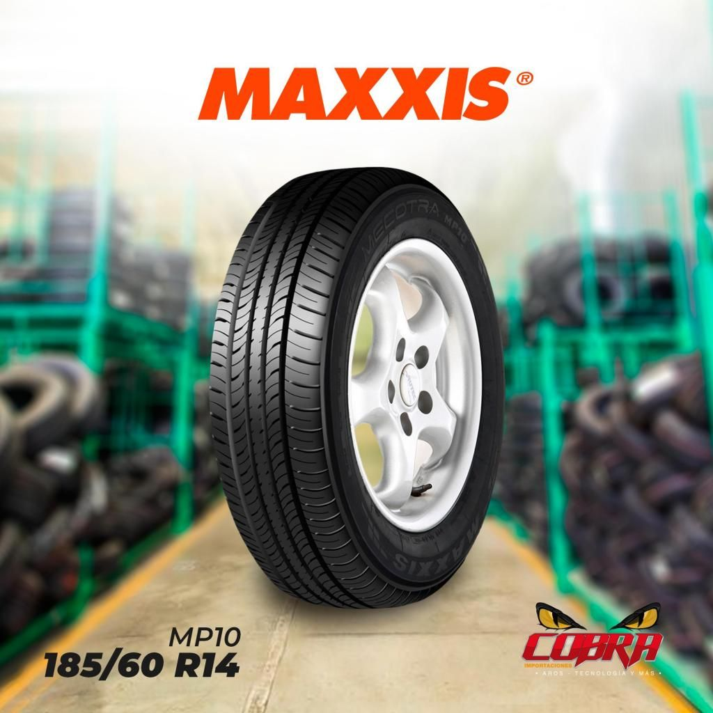 LLANTAS 185/60 R14 MAXXIS