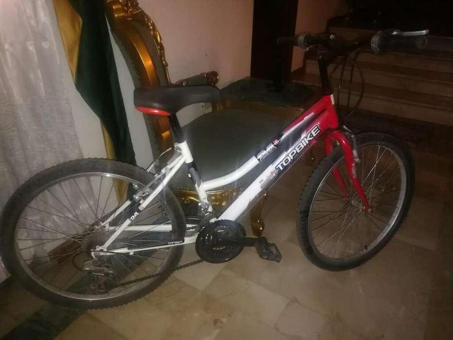 Vendo Hermosa Bicicleta Rin 24