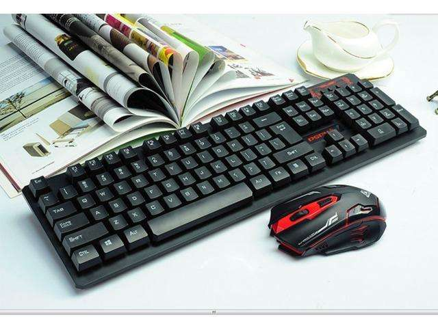 Combo Gamer Teclado Y Mouse. Cable. Usb