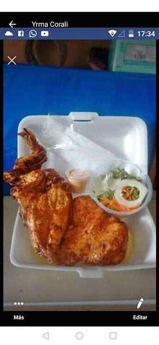 Cosina plato servido