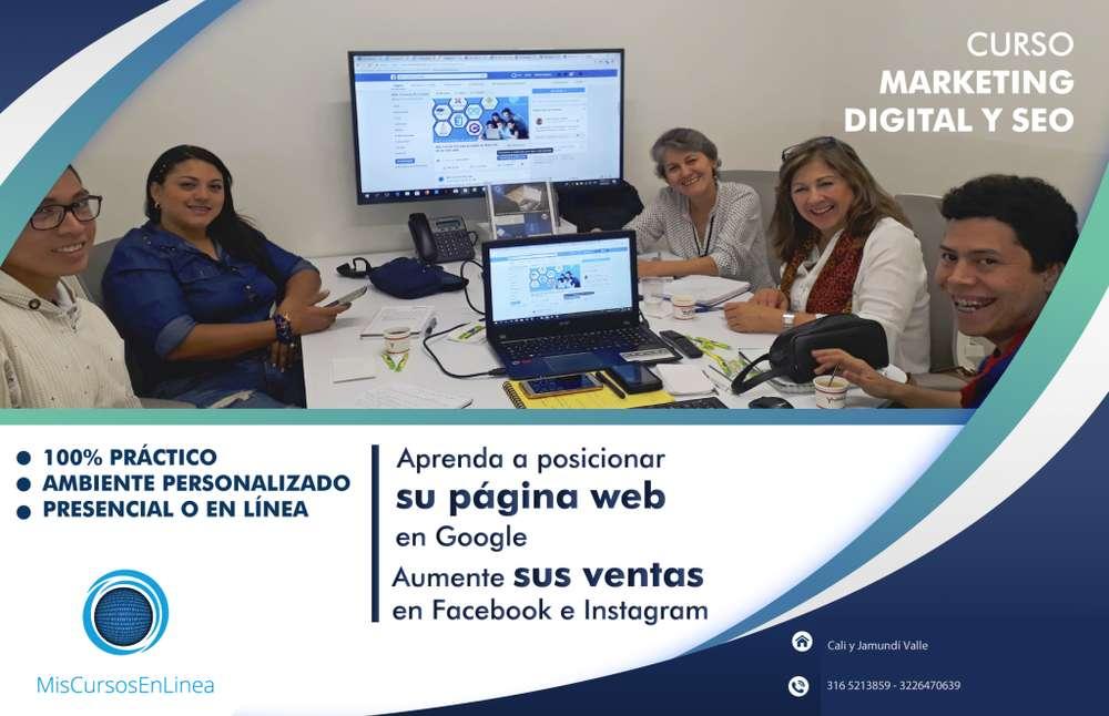 Curso de Marketing Digital en linea Cel. 316 5213859
