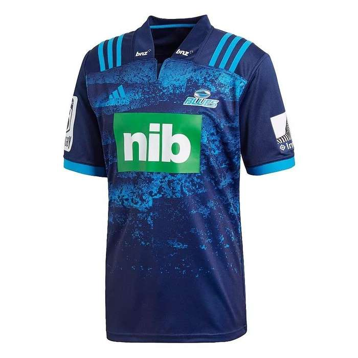 ae4ac42e7 Camiseta  strong rugby  strong  Blues 2018 Alternativa