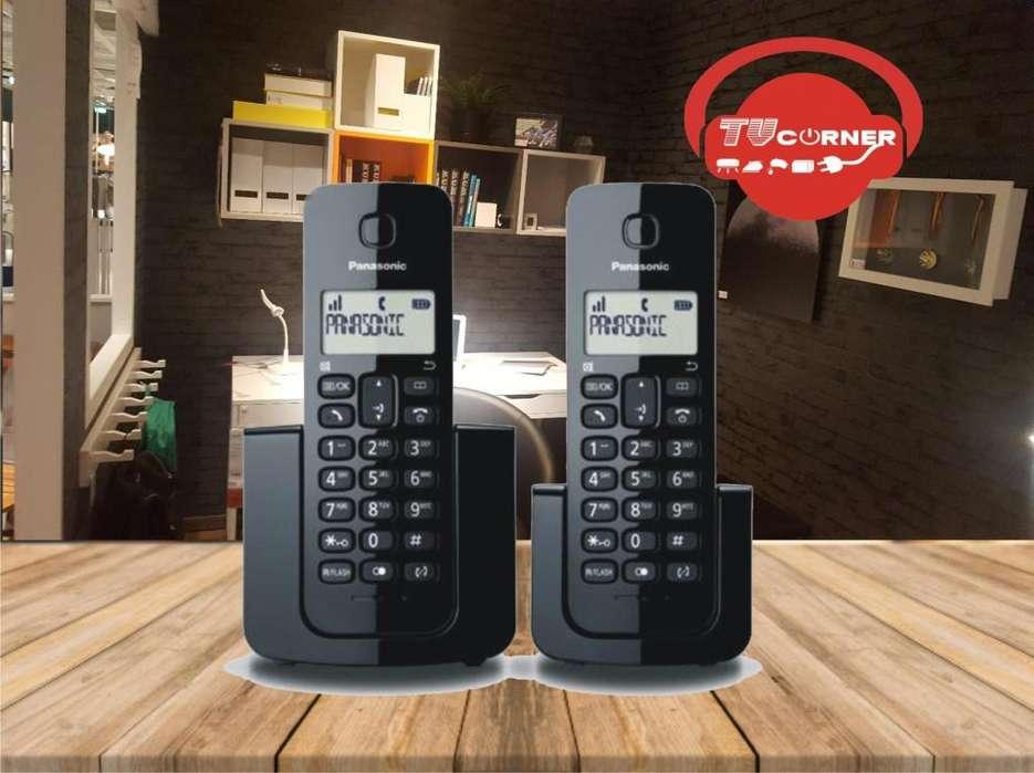 Teléfono Inalámbrico panasonic 2 BASES