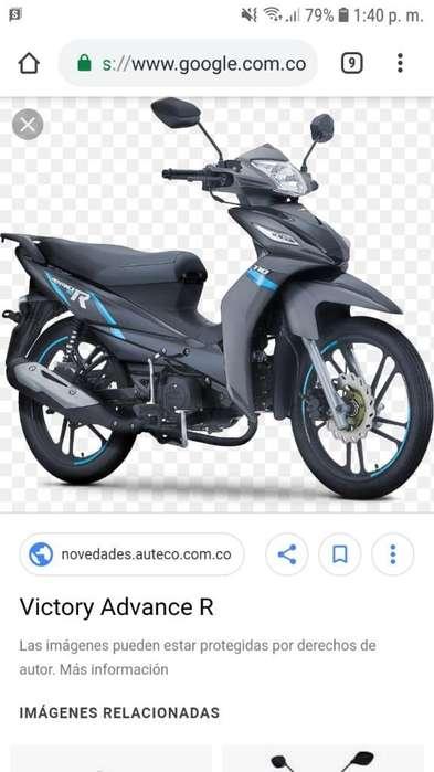 Vendo Moto Advence R Modelo 2020