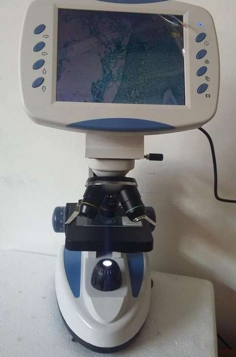 Microscopio Digital con Pantalla <strong>monitor</strong>