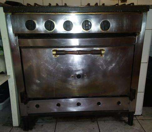 Cocina Industrial Horno Pizzero Acero Inoxidable