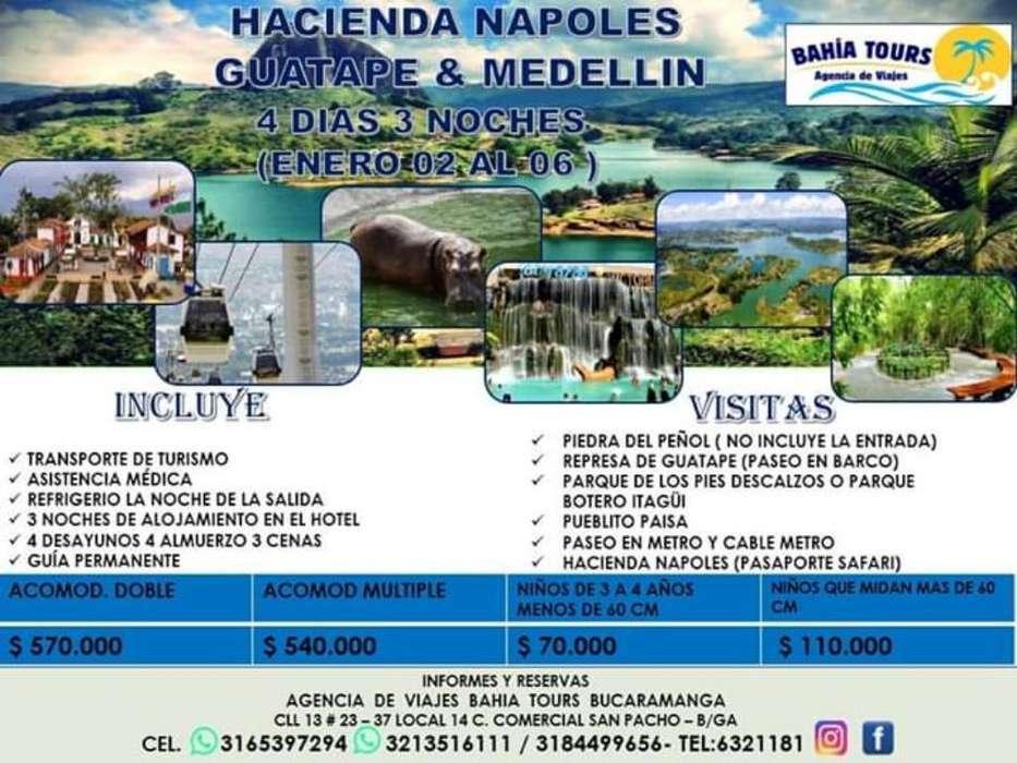 Tour Medellin Enero 2020