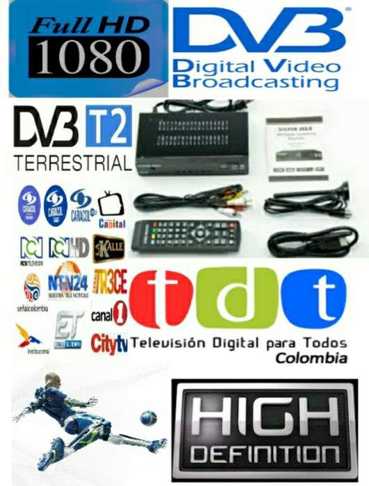 Decodificador Tdt Hd Nueva Version 2019