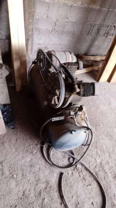 compresor de aire doble cabezal funciona a 9500 pesos