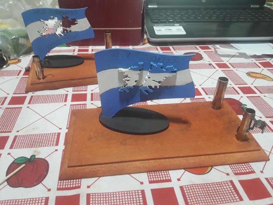 Lapicero Debandera con Las Islasmalvinas