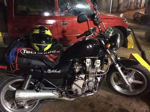 Moto Honda cilindraje 750 , matriculada