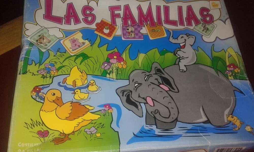 Juego de Mesa Unir Familia
